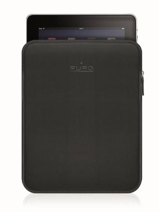 Funda para iPad de neopreno negro Puroscudo