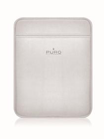 Funda para iPad de neopreno fina de color blanco hielo Puroscudo