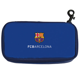 Porta Bocadillos FC Barcelona liso Azul