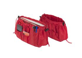 Organizador bolso Kangaroo (2 unidades) rojo