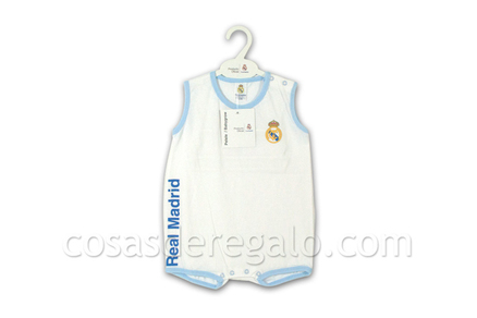 Pelele corto Real Madrid Talla 12M