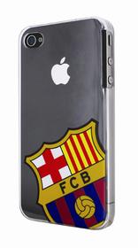 Carcasa de cristal con el escudo del Barça para el iPhone4