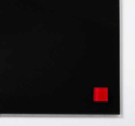 Imanes Cristal De Color Rojo Extra Fuertes (2 Unidades)
