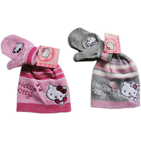 Gorro y guantes Baby Hello Kitty