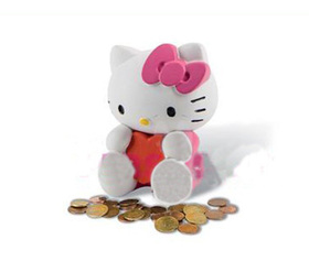 Hucha grande de Hello Kitty