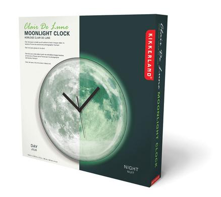 Reloj Analógico en forma de luna