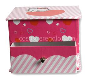 Joyero de la Hello Kitty con un cajón