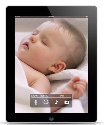 Control de bebés Smart Baby Monitor para iPhone