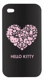 Carcasa para el iPhone 4- 4S de un corazón de la Hello Kitty