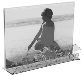 Marco de fotos Beach para 1 foto 10x15 acrílico