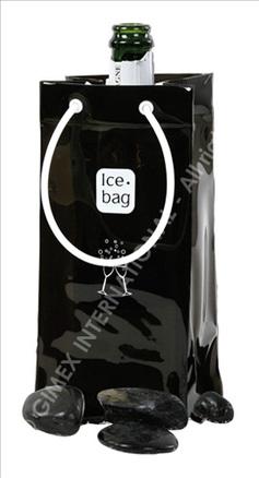 Bolsa enfriadora de botellas Ice.bag® Basic Black&White