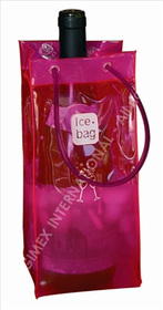 Bolsa enfriadora de botellas Ice.bag® Basic transparente
