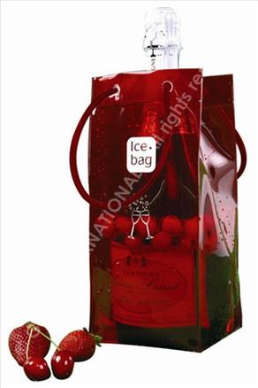 Bolsa enfriadora de botellas Ice.bag® Basic transparente