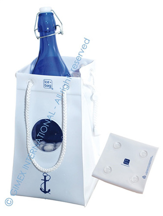 Bolsa enfriadora de botellas Ice.bag® VIP Yatching