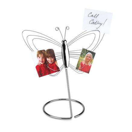 Soporte de mesa para fotos en forma de mariposa