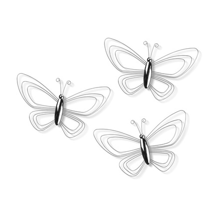 Porta fotos para pared en forma de mariposa