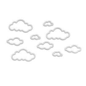 Nubes adhesivas para la pared