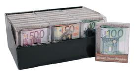 Aguanta puertas en forma de billete de euro