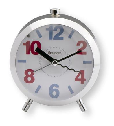Reloj despertador de metal