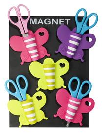 Estuche magnético de mariposa para guardar las tijeras