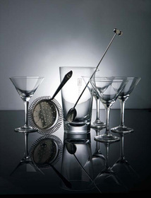Set Dry Martini Dry Collection inoxidable y vidrio