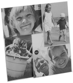 Marco de fotos Preston para 4 fotos 10x15 acrílico