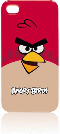 Funda angry birds para iPhone 4-4S roja