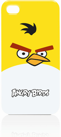 Funda angry birds para iPhone 4-4S amarilla