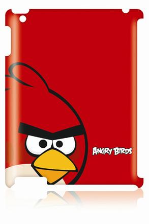 Funda angry birds roja para iPad 2 y 3