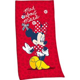 Toalla roja Minnie Disney