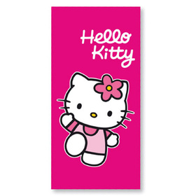 Toalla fucsia Hello Kitty