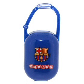 Porta chupetes FCB