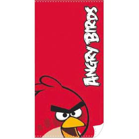 Toalla Angry Birds roja grande