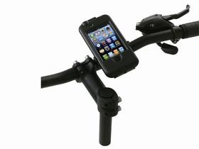 Soporte para bici y funda impermeable anti golpes para iPhone