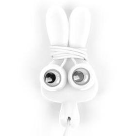 Enrolla cables conejo para auriculares