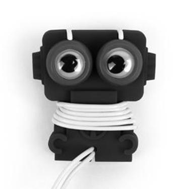 Enrolla cables robot para auriculares