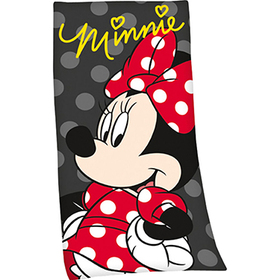 Toalla gris de la Minnie