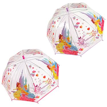 comprar comprar auténtico Paraguas burbuja transparente de Princesas Disney de 45 cm