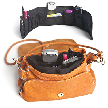 Organizador bolso snake de color negro 4 pilas ag3 incluidas - Bolso con luz interior ...