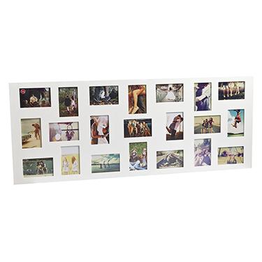 Marco de fotos Flat Face para 21 fotos 10x15 blanco