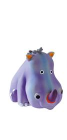 Látex Rinoceronte pequeño azul