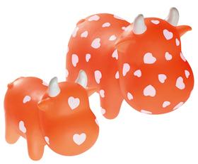 Vinilo Vaca naranja pequeña