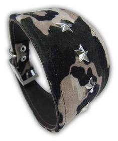 Collar para Galgo militar con estrellas