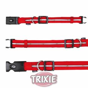 Collar Flash de color rojo