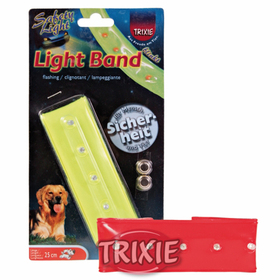 Banda luminosa plástico con Velcro de 25 cm