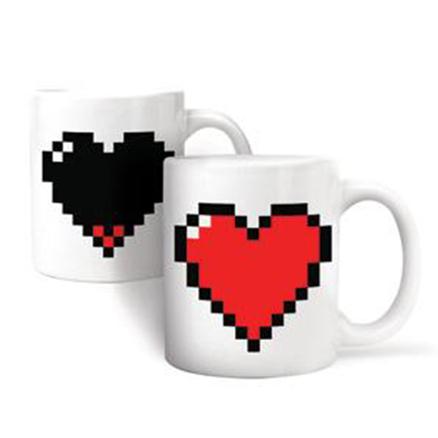 Mug en forma de corazón