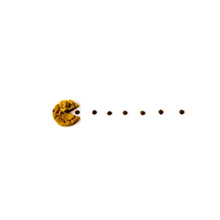 Molde galleta Pac Man Come Cocos