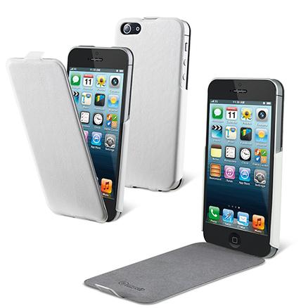 Funda iFlip Blanca Apple iPhone 5