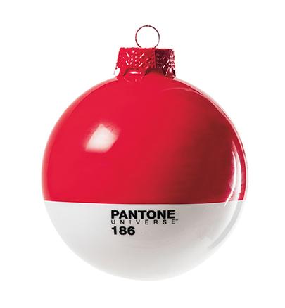 Bola de navidad pantone de cristal 8 cm - Pantone textil gratis ...