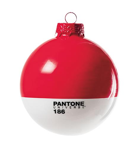 bola de navidad pantone de cristal cm